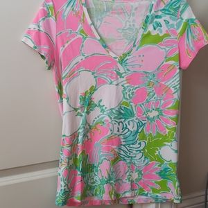 Lilly pulitzer michele top small